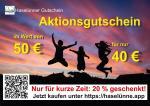 Verkauf des 2. Haselünner Aktionsgutscheines startet am 29. Mai 2021