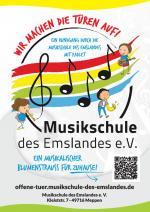 Musikschule des Emslandes - Ein musikalischer Blumenstrauß für Zuhause